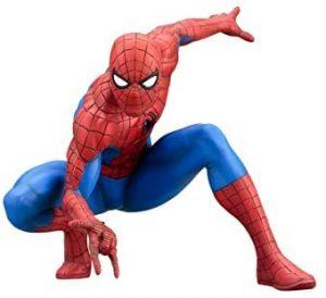 Figura de Spiderman de Kotobukiya - Figuras coleccionables de Spiderman