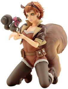 Figura de Squirrel Girl de Kotobukiya - Figuras coleccionables de Squirrel Girl