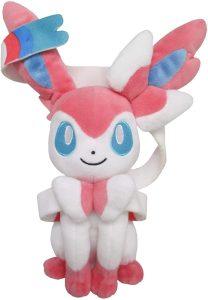 Figura de Sylveon de Peluche - Figuras coleccionables de Eevee de Pokemon