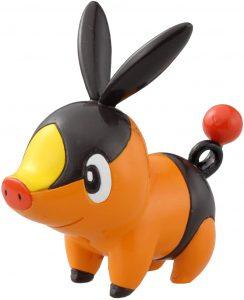 Figura de Tepig de Takara Tomy - Figuras coleccionables de Tepig de Pokemon