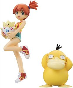 Figura de Togepi, Misty y Psyduck de Megahouse - Figuras coleccionables de Togepi de Pokemon