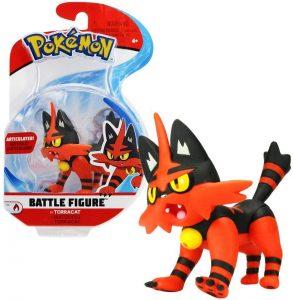 Figura de Torracat de Pokemon Battle - Figuras coleccionables de Torracat de Pokemon