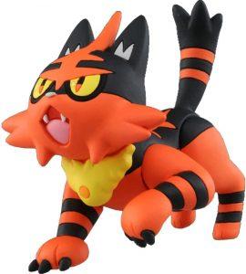 Figura de Torracat de Takara Tomy - Figuras coleccionables de Torracat de Pokemon