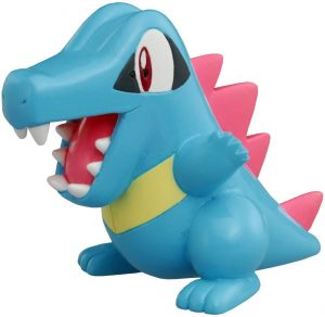 Figura de Totodile de Takara Tomy - Figuras coleccionables de Totodile de Pokemon