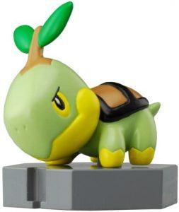 Figura de Turtwig de Takara Tomy 2 - Figuras coleccionables de Turtwig de Pokemon
