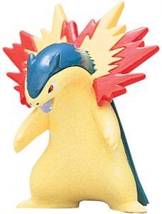 Figura de Typhlosion de Takara Tomy - Figuras coleccionables de Cyndaquil de Pokemon