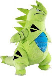 Figura de Tyranitar de Peluche MAXI de 25 cm - Figuras coleccionables de Tyranitar de Pokemon