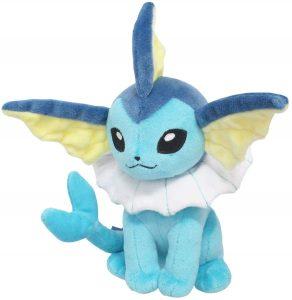 Figura de Vaporeon de Peluche - Figuras coleccionables de Eevee de Pokemon