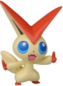 Figura de Victini de Takara Tomy 2 - Figuras coleccionables de Victini de Pokemon