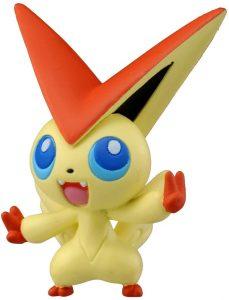 Figura de Victini de Takara Tomy - Figuras coleccionables de Victini de Pokemon