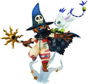 Figura de Wizarmon y Tailmon de Digimon de Megahouse - Figuras coleccionables de Digimon