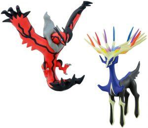 Figura de Xerneas y Yveltal de Takara Tomy - Figuras coleccionables de Xerneas de Pokemon