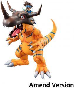 Figura de Yagami Taichi y Greymon de Digimon de Megahouse - Figuras coleccionables de Digimon