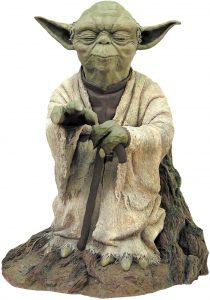 Figura de Yoda de Attakus - Figuras coleccionables de Yoda de Star Wars