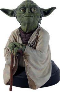 Figura de Yoda de Collectible Bust - Figuras coleccionables de Yoda de Star Wars