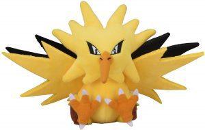 Figura de Zapdos de Peluche - Figuras coleccionables de Zapdos de Pokemon