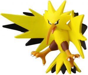 Figura de Zapdos de Takara Tomy 2 - Figuras coleccionables de Zapdos de Pokemon
