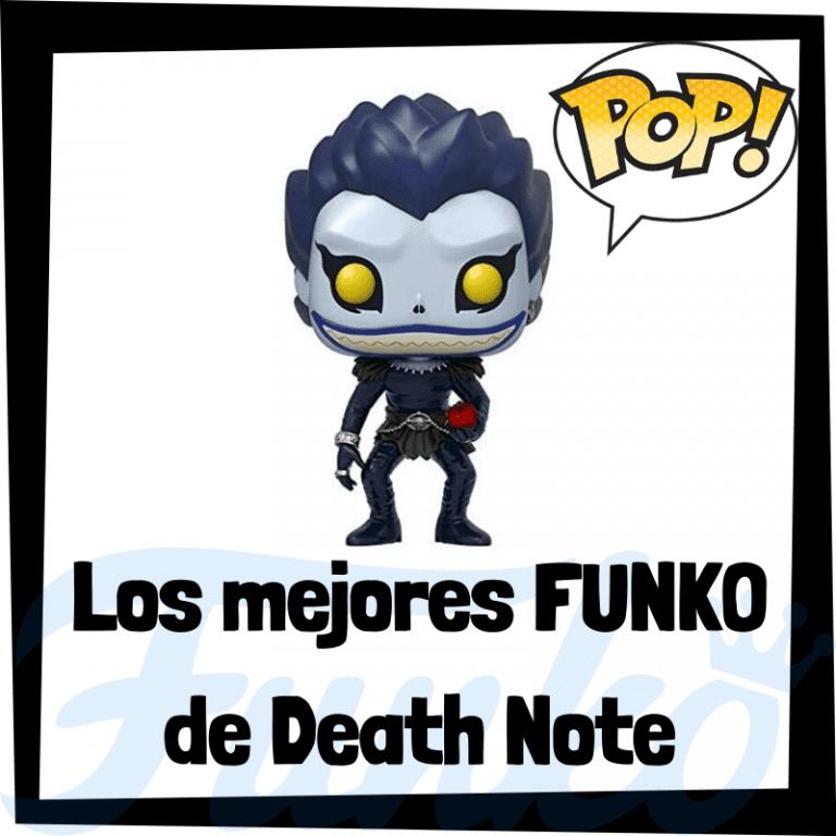 Figuras FUNKO POP de Death Note - Funko POP del anime de Death Note de Ryuk, Light, L, etc