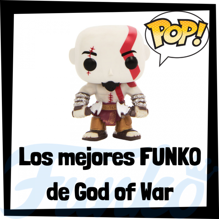Figuras FUNKO POP de God of War - Funko POP de Kratos