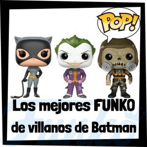 Figuras FUNKO POP de villanos de Batman - Funko POP de villanos de DC