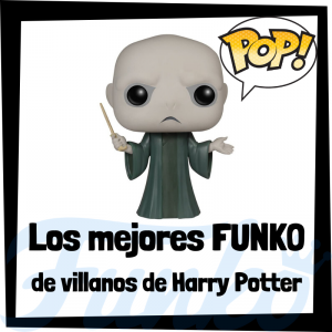 Figuras FUNKO POP de villanos de Harry Potter - Funko POP de Lord Voldemort