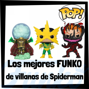 Figuras FUNKO POP de villanos de Spiderman - Funko POP de villanos de Spiderman