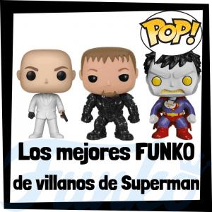 Figuras FUNKO POP de villanos de Superman - Funko POP de villanos de DC