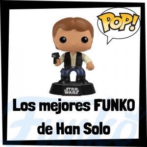 Figuras FUNKO de Han Solo de Star Wars - Funko POP de Han Solo