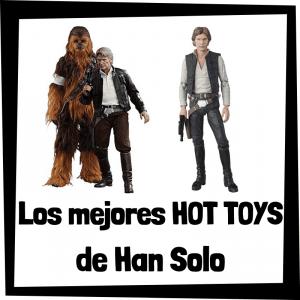 Figuras Hot Toys de Han Solo - Hot Toys de figuras de colección de Han Solo de Star Wars
