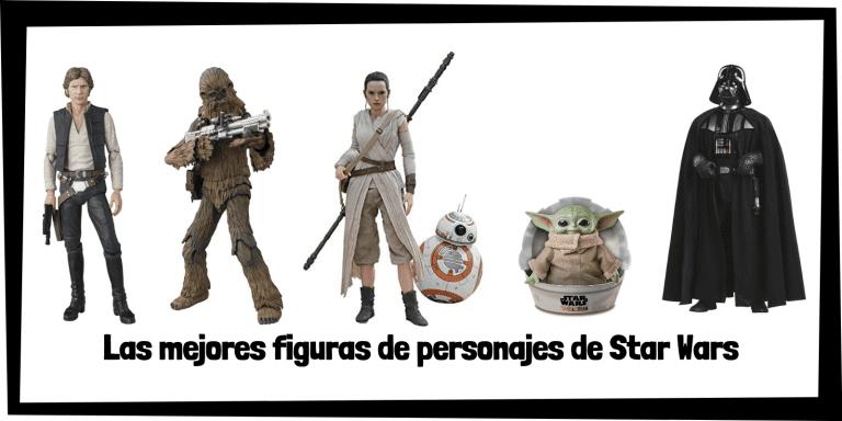 Figuras coleccionables de personajes de Star Wars - Figuras de colección de Star Wars de personajes