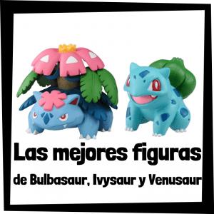 Figuras de acción y muñecos de Bulbasaur, Ivysaur y Venusaur