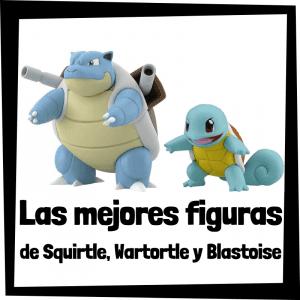 Figuras de acción y muñecos de Squirtle, Wartortle y Blastoise