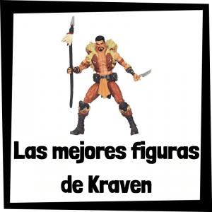 Figuras de colección de Kraven - Las mejores figuras de colección de villanos de Spiderman