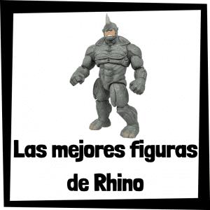 Figuras de colección de Rhino - Las mejores figuras de colección de villanos de Spiderman