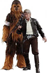 Hot Toys de Chewbacca y Han Solo Nueva Trilogia - Los mejores Hot Toys de Han Solo - Figuras coleccionables de Han Solo de Star Wars