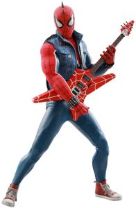 Hot Toys de Spiderman de Marvel Spiderman del videojuego de Punk - Los mejores Hot Toys de Spiderman - Figuras coleccionables de Spiderman