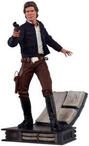 Sideshow de Han Solo clásico - Los mejores Hot Toys de Han Solo - Figuras coleccionables de Han Solo de Star Wars