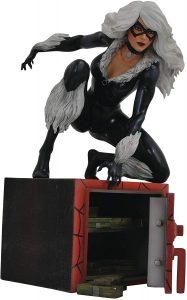 Figura Diamond de Black Cat - Las mejores figuras Diamond de Gata Negra - Black Cat - Figuras coleccionables de villanos de Spiderman