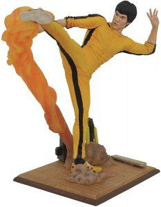 Figura Diamond de Bruce Lee con traje amarillo - Las mejores figuras Diamond de Bruce Lee - Figuras coleccionables y muñecos de Bruce Lee
