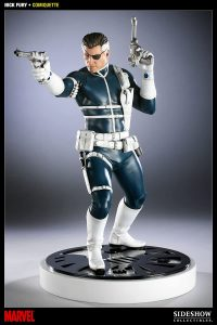 Figura Sideshow de Nick Furia - Nick Fury de los cómics - Figuras coleccionables de Nick Furia