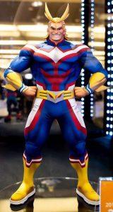 Figura de All Might de My Hero Academia de Banpresto 3 - Figuras coleccionables de All Might