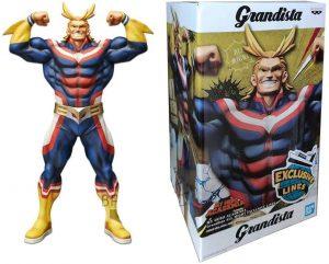 Figura de All Might de My Hero Academia de Grandista - Figuras coleccionables de All Might