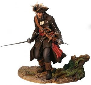 Figura de Barbanegra de Assassin's Creed Black Flag de Ubisoft - Figuras coleccionables de Assassin's Creed