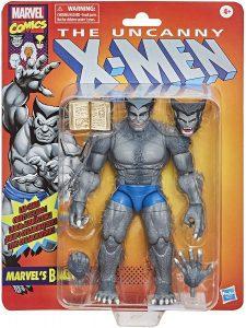 Figura de Bestia Vintage de los X-Men de Marvel Legends - Figuras coleccionables de Bestia