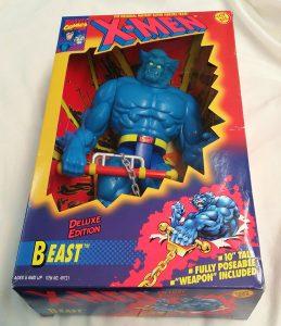 Figura de Bestia de los X-Men de Toy Biz - Figuras coleccionables de Bestia