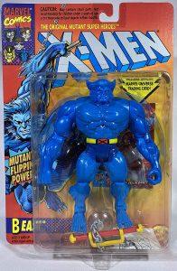 Figura de Bestia de los X-Men de Toy Biz Vintage - Figuras coleccionables de Bestia