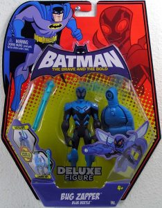 Figura de Blue Beetle retro de Mattel - Figuras coleccionables de Blue Beetle