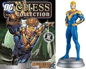 Figura de Booster Gold de dc comics Chess Figurine Collection - Figuras coleccionables de Booster Gold