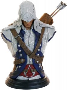 Figura de Busto de Connor de Assassin's Creed de Ubisoft - Figuras coleccionables de Assassin's Creed
