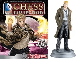 Figura de Constantine de dc comics Chess Figurine Collection - Figuras coleccionables de Constantine